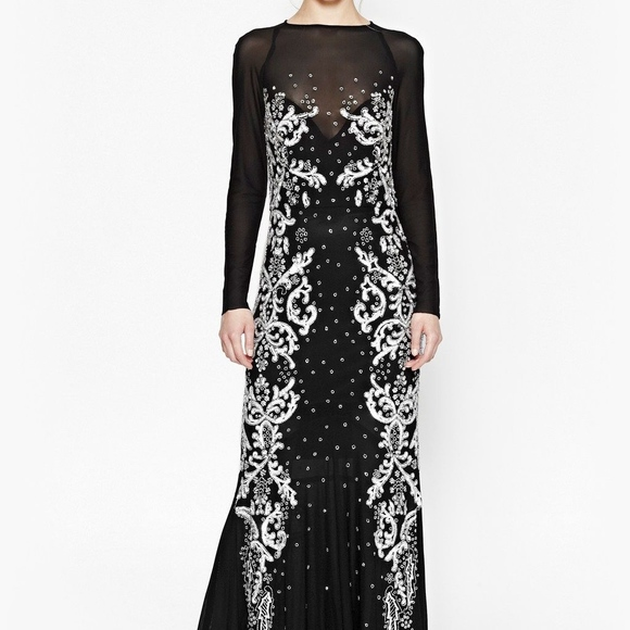 7cbcba941a7 French Connection Black Sequin Maxi Dress – Little Black Dress ...